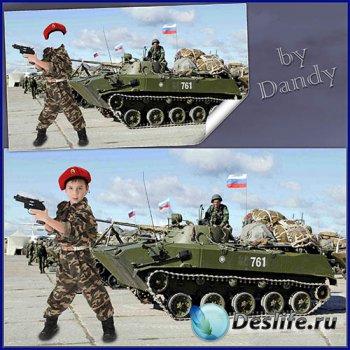 Костюм для мальчика - Маленький спецназовец
