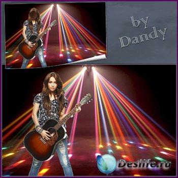 Костюм для фотошопа - Девушка с гитарой