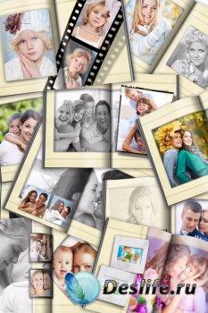 Универсальная фотокнига для фотографий с эффектами