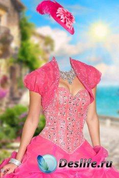 Костюм женский для фотошопа – Девушка на набережной