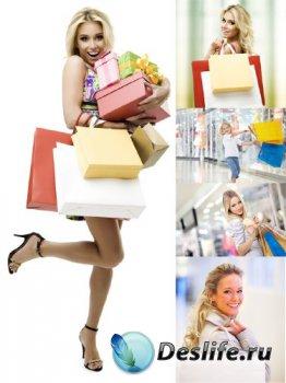 Люди совершают покупки (подборка изображений)