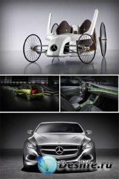 Mercedes Benz: автомобильные концепты (подборка изображений)