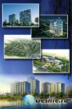 Архитектурные концепты (подборка изображений)