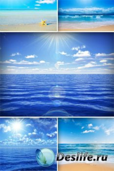 Море, берег, пляж, волна (подборка изображений)