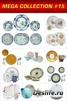 Мега коллекция №15: Набор посуды