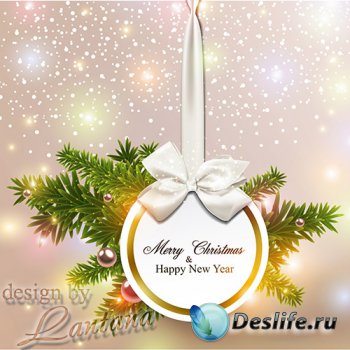 PSD исходник - Новый год нам дарит волшебство 38