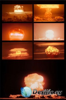 Ядерный взрыв (подборка изображений)