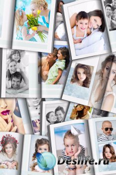 Фотокнига для фотошопа - Трепетные воспоминания