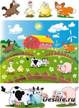 Веселая ферма (подборка отрисовок) часть вторая