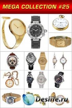 Мега коллекция №25: Часы (мужские и женские, наручные и карманные)
