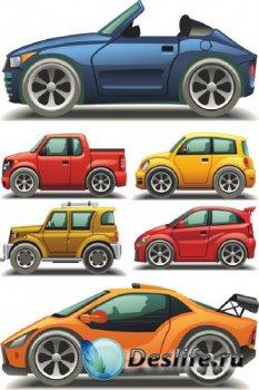 Векторные автомобили (подборка отрисовок)