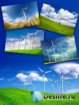 Ветряная электростанция (подборка изображений)