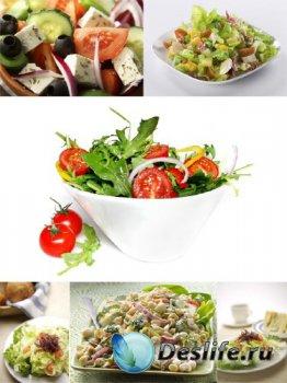 Еда: Салаты (подборка изображений)