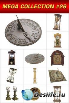 Мега коллекция №26: Часы солнечные, песочные, напольные