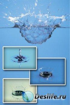 Всплеск жидкости (подборка фото)