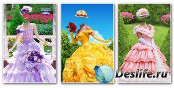 Костюмы для фотомонтажа женские – Летние наряды