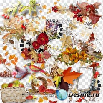 Png клипарт на прозрачном фоне - Сказочная осень