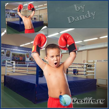 Шаблон для мальчика – Маленький боксер