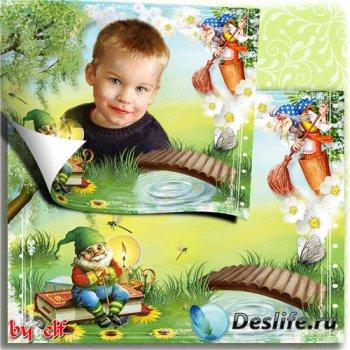 Рамка для детских фото - Волшебство у порога