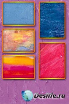 Абстрактный фон (краски)