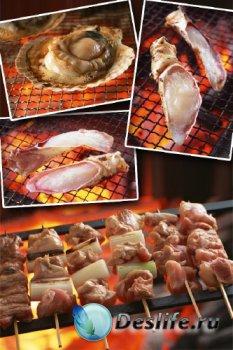 Японская кухня на углях