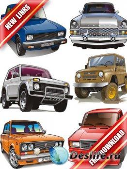 Векторный сток: советские автомобили (рабочие ссылки, бесплатные файлообмен ...