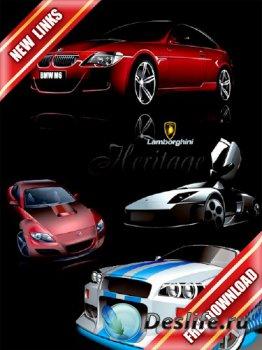 Векторный сток: зарубежные автомобили (часть первая) рабочие ссылки, беспла ...