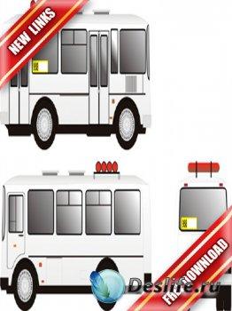 Векторный автобус ПАЗ (в натуральную величину)  рабочие ссылки, бесплатные  ...
