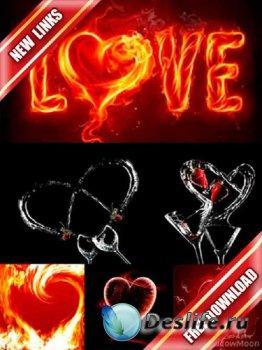 Фотосток: сердце на черном фоне (рабочие ссылки, бесплатные файлообменники)