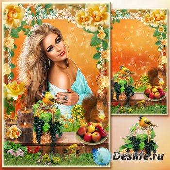 Рамка для фото - Весенний натюрморт