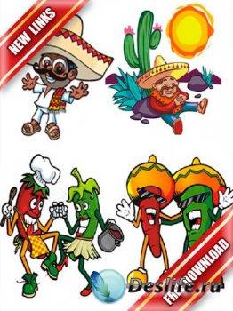 Векторный сток: мексиканские изображения (рабочие ссылки, бесплатные файлоо ...