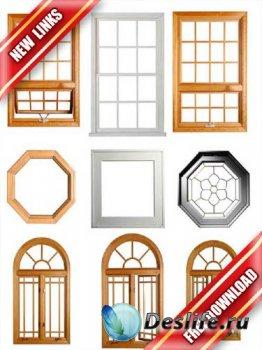 Фотосток: окна и оконные системы на белом фоне (рабочие ссылки, бесплатные  ...