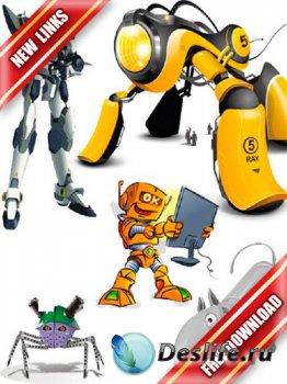 Векторный сток: роботы (рабочие ссылки, бесплатные файлообменники)