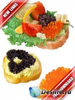 Фотосток: красная и черная икра на бутербродах (рабочие ссылки, бесплатные  ...
