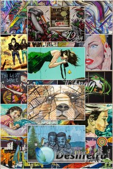 Graffiti, street art - Уличное искусство, граффити