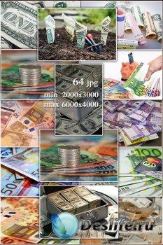Money, banknotes, piggy banks - Деньги, банкноты