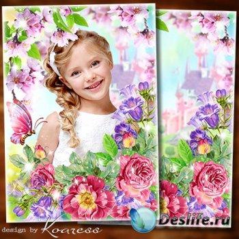 Фоторамка для детских фото - Тебе желаю в день весенний озорного настроения