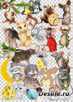 Клипарт мыши и крысы - Clipart mice and rats