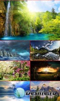 HQ обои красивая природа. Часть 111