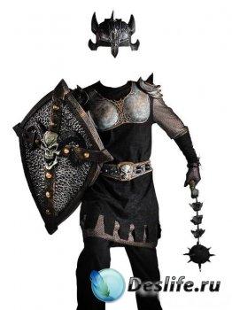 Костюм для фотошопа - Великий рыцарь