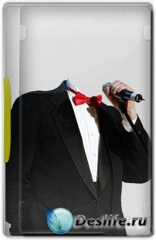 Костюм мужской для фотошопа - Оперный певец