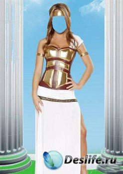 Костюм для фотошопа - Греческая правительница