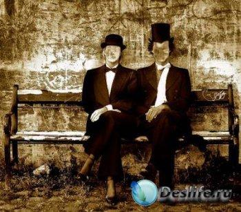 PNG Костюм для фотошопа - Мистер и Миссис