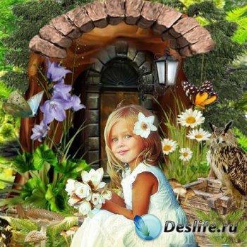 Костюм для детского сада в фотошопе - Лесной домик