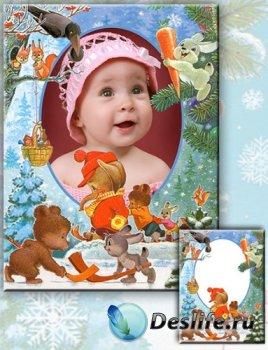 Рамка для фотографии - Новогодняя сказка