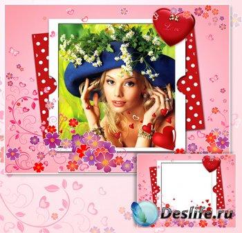 Рамка для фотографии - Романтичное письмо