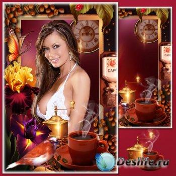 Рамка для фото с роскошными тюльпанами - Манящий аромат